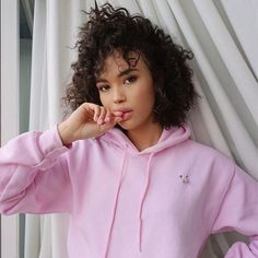 How to Wear the Pierced Clothing Trend Curly Hair Styles, Short Curly Hair, Curly Girl, Natural Hair Styles, Black Girls Hairstyles, Afro Hairstyles, Big Hair, Your Hair, Curly Hair