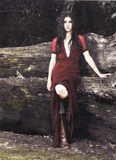 Vanessa Carlton's style is the inspiration for my look for engagement photos. She always wears flowy dresses and boots. I am going to wear a maroon babydoll dress and brown Steve Madden knee-high boots for our nature engagement shoot. :)