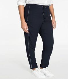 Damkläder Stora Storlekar – XLNT - Generöst utbud - KappAhl Sweatpants, Fashion, Moda, Fashion Styles, Fashion Illustrations