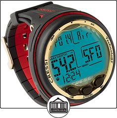 Cressi Giotto Negro-rojo de  ✿ Relojes para hombre - (Gama media/alta) ✿