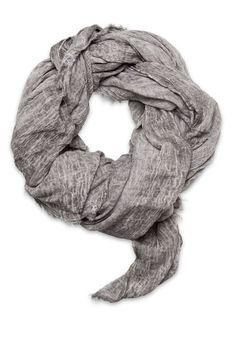 Luxurious oversized grey / beige scarf