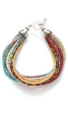 Jewelry Design - Multi-Strand Bracelet with Seed Beads - Fire Mountain Gems and Beads