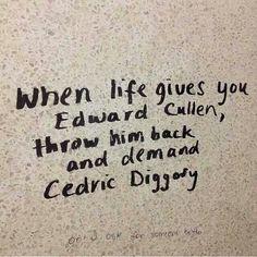 Demand Cedric Diggory!