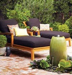 Fabulous Outdoor Fabric    Rinse off your patio furniture, and top lounge chairs and porch swings with colorful, stylish, and durable outdoor fabrics. New outdoor upholstery complements your yard while creating inviting spaces to sit and relax. You can also use outdoor fabrics to create romantic curtains around a patio or other outdoor space.