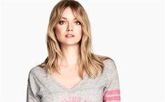 Download wallpapers Lindsay Ellingson, american model, make-up, blond, beautiful woman, Victorias Secret