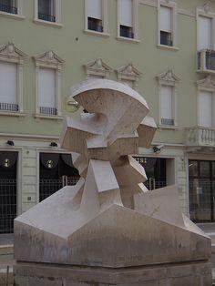 1986 Legnago  GIORGIO POMODORO in arte GIO' POMODORO (Orciano di Pesaro, 17 novembre 1930 – Milano, 21 dicembre 2002)   #TuscanyAgriturismoGiratola