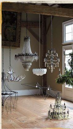 lighting inspiration via Athropologie
