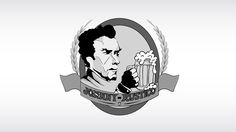 Logo criada em Corel Draw para o bar, Johnny-Rustico. Philipe Marchiolli
