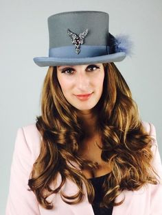 "La Vie en Rosas,""Phoenix Rock Star"" Top Hat."