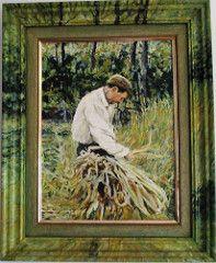 Harvest, oil on canvas by Joao Viola (pintor joao viola) Tags: nature rio no harvest que amliarodrigues gaivota povo lavas fadodelisboa