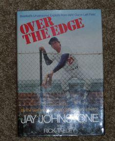 Over the Edge Jay Johnstone hard back book baseball LA Dodgers hardback