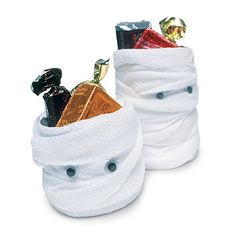 Mummy Trick-or-Treat Bags