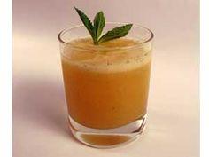 Bebida de manzana con té verde