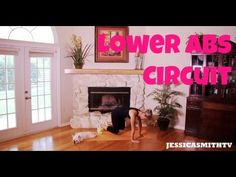 Lose the pooch, belly booch, belly flab, lower abs, lower abs exercises, free full length workout video for lower abs | Jessica Smith TV Fitness YouTube Workout Videos