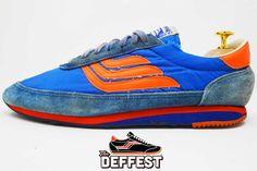 Spalding vintage sneakers @ The Deffest