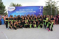 Clase muestra del programa Pausa para la Salud en la Delegación Jesús Terán ~ Ags Sports