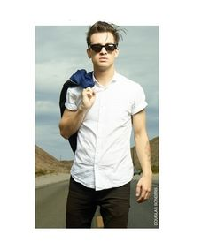 Brendon Urie.  Panic! At The Disco.  Yum!