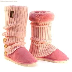Cardy Tall Ugg Socks  Deluxe Boots - Candy Pink for just $199 from http://www.uggbootsmadeinaustralia.com.au