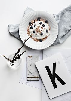 Only Deco Love: Quick Brunch , Yogurt and Granola with Chia and Quinoa
