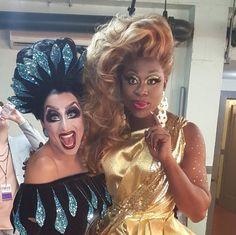 Bianca Del Rio and Bob the Drag Queen