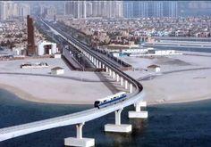 Monorail over Palm Jumeirah