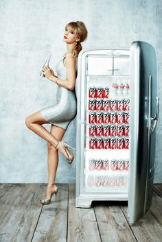 Taylor Swift for Diet Coke