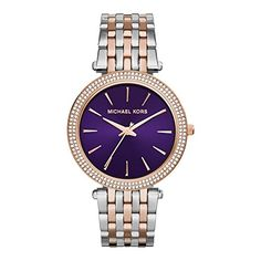 Michael Kors Darci Purple Dial Two Tone Steel Ladies Watch MK3353 Michael Kors http://www.amazon.com/dp/B00N8LS8RA/ref=cm_sw_r_pi_dp_xDINub0K2MJ3W