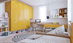 Stylish Bedrooms Designed for Kids