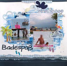 #sketchnscrap #scrapourstash #paperissues #mixedmedia #tcscutitout #thecutshoppe #painting #beach #gardasee