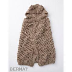 Bernat Baby Blanket Squirreled Away Blanket