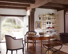 Get Interior Inspo From Reese Witherspoon's Modern Mediterranean Home via Brit + Co.