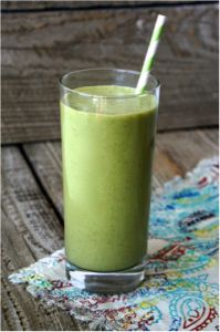Power up green smoothie