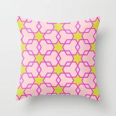 Retrostar #3 (By Salomon) #design #fashion #heart #cojin #pillow #cushion #interior #decor #home #decoration #casa #decoracion #marble #marmol #texture #stars #universe #retro #society6 @society6