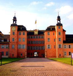 Schloss Schwetzingen, nice exterior though we never went in