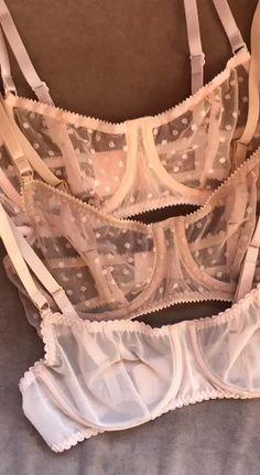 See through bra - Mesh panties - Sheer lingerie Lingerie Fine, Jolie Lingerie, Lingerie Outfits, Sheer Lingerie, Pretty Lingerie, Beautiful Lingerie, Lingerie Sleepwear, Lingerie Set, Women Lingerie