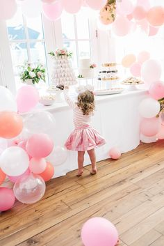 Balloons are so inexpensive, but can add so much to your Party Decor when used in creative ways!