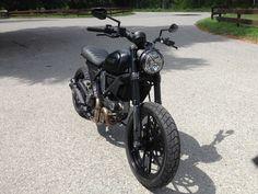 Black Icon - Ducati Scrambler Forum