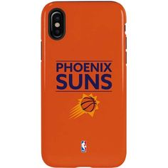 Set the standard on your iPhone X with the Phoenix Suns Standard - Orange iPhone X Pro Case. Featuring the Suns official team logo on top of a bold orange background, you can let your NBA® passion be heard all season long. Add a bold look to your iPhone X today with the Phoenix Suns Standard - Orange iPhone X Pro Case. The Phoenix Suns Standard - Orange iPhone X Pro Case by Skinit provides maximum protection from damaging falls.