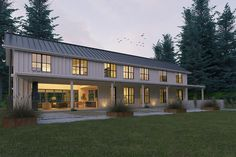 Farmhouse Style House Plan - 3 Beds 3.5 Baths 3374 Sq/Ft Plan #888-15 Exterior - Outdoor Living - Houseplans.com