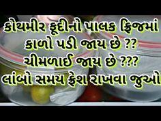 કોથમી ફુદીનો લીંબુ ને લામ્બો ટાઈમ સાચવાની પરફેક્ટ રીત - YouTube Kitchen Recipes, Kitchen Hacks, Snack Recipes, Dessert Recipes, Cooking Recipes, Desserts, Gujarati Recipes, Indian Food Recipes, Vegetarian Snacks