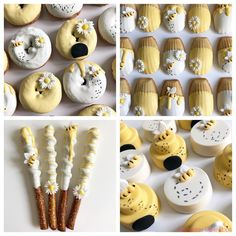 ideas baby reveal desserts bumble bees for 2019 Babyshower Party, Baby Party, Baby Shower Parties, Baby Shower Themes, Baby Shower Decorations, Deco Baby Shower, Baby Boy Shower, Winnie The Pooh Birthday, Baby Birthday