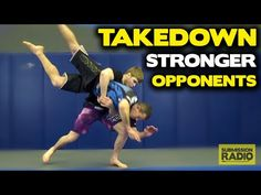 Clinch Takedowns AGAINST STRONGER opponents - by UFC Lightweight Jake Matthews - YouTube