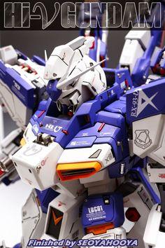 1/72 RX-93 Hi-Nu Gundam - Customized Build     Modeled by fdc17