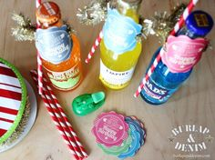 Soda Lighted Birthday Gift for Young Women or Young Men