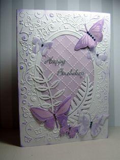 Butterfly birthday by: Christine Haigh - Xcut Dies, Xcut Xpress 21st Birthday Cards, Homemade Birthday Cards, Birthday Cards For Women, Homemade Cards, Female Birthday Cards, Butterfly Cards, Flower Cards, Pinterest Birthday Cards, Butterfly Birthday