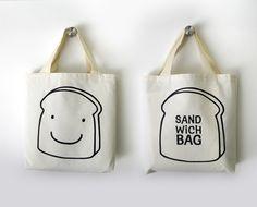 Have a happy lunch ! - Olula se casa sandwich bag