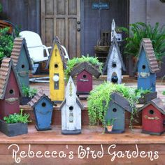 Rustic birdhouses and bird feeders utilizing repurposed materials. - Handcrafted in Southwest Missouri. Also offering DIY instructions and