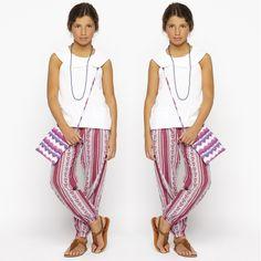 L'été est là ! Profitez des soldes pour shopper LE pantalon fluide ethnique !!! #nicolifrance
