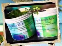 Moringa Scalp and Temple balm! promotes healthy hair growth... http://www.HealingMoringaTree.com