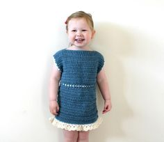 (4) Name: 'Crocheting : Crochet Frill Dress 1-2 Years - PDF24